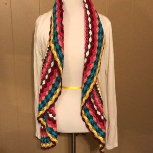 Adorable Crochet and Knit Cardigan